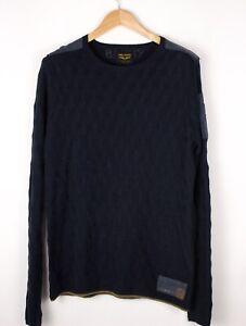 PME LEGEND Herren Freizeit Strick Pullover Größe L ATZ346