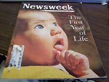 NEWSWEEK - THE FIRST YEAR OF LIFE   - OCTOBER 25TH 1965 - EXCELLENT