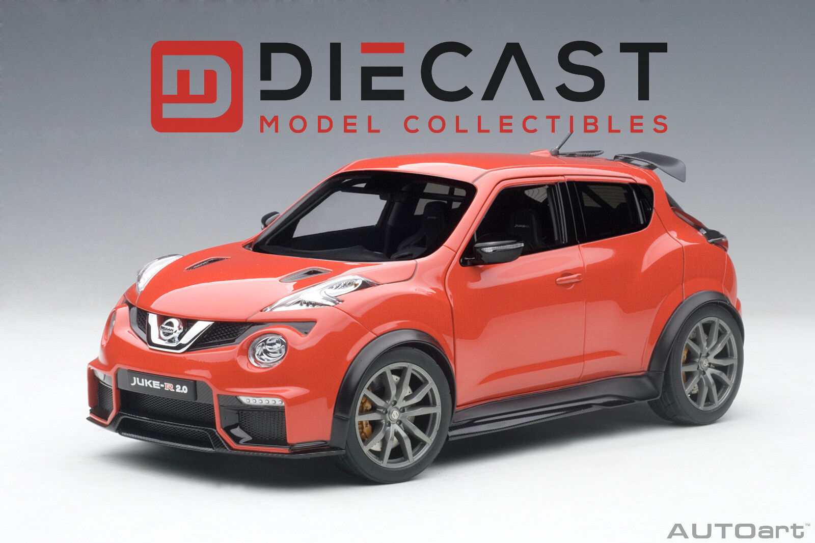 AUTOART 77457 NISSAN JUKE R 2.0 (RED) 1 18TH SCALE