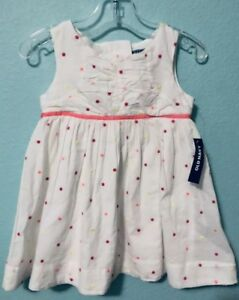 fe6a7db03908d Old Navy NWT Toddler Girl Summer Cotton Sleeveless Polka Dot Dress ...