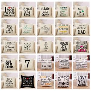 Cotton-Linen-Square-Home-Decorative-Throw-Pillow-Case-Sofa-Taille-Housse-de-coussin