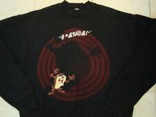 Vintage Looney Tunes Tasmanian Devil Taz Tazmania 90's Crew Neck Sweatshirt L