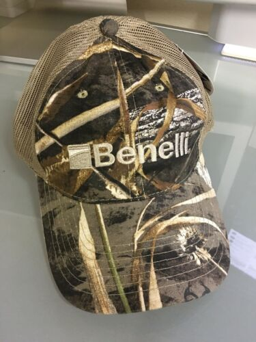 Benelli Max-5 Max 5 Cap Hat Hunting Mesh Camo New With Tags Adjustable