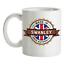 Made-in-Swanley-Mug-Te-Caffe-Citta-Citta-Luogo-Casa miniatura 1