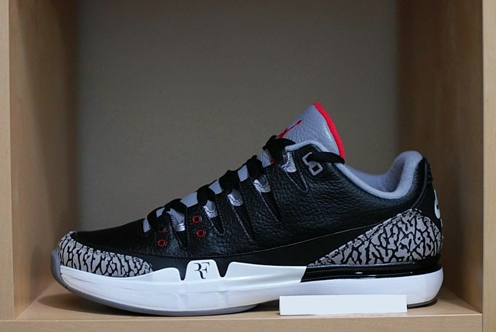 Nike Zoom Vapor AJ3-RF X CEUomoTO Jordan-Nera 2014 DS