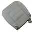 03-06 Ford Expedition Eddie B..4.6L GAS Passenger Bottom Leather Seat cover GRAY