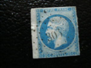 FRANCE-timbre-yvert-et-tellier-n-14B-obl-A6-stamp-french-I