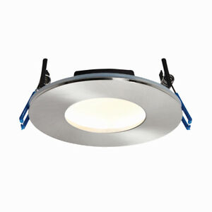 sports shoes 444b9 2dff7 Details about Fire Rated Low Profile LED Bathroom Downlight IP65 Warm White  CANNON (3000K)