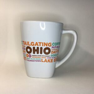 Dunkin Donuts Ohio Destinations Coffee Mug Cup 2016 Ceramic