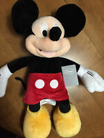 Disney Store Exclusive 19 Mickey Mouse Large Plush Toy Doll Authentic -