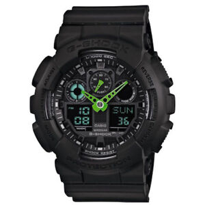Orologio-Subacqueo-G-Shock-Casio-GA-100C-1A3ER-Digitale-Cronografo-Resina-200mt