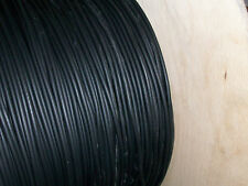 5MM BLACK PERFORMANCE IGNITION LEAD CABLE HT 1 FULL METER CHAINSAWS QUALITY