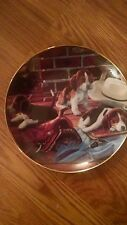 Ruff Riders Limited Edition Collector Plate By Franklin Mint
