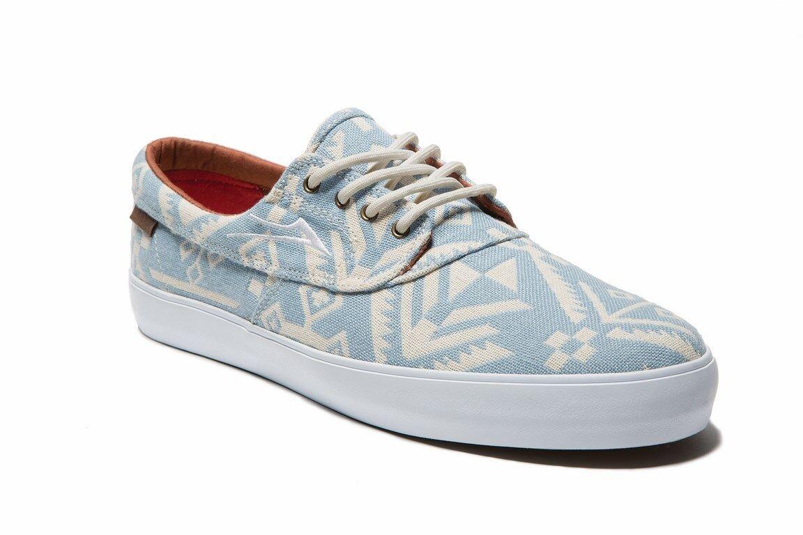 Lakai Men's Echelon Camby blue canvas Men's Lakai skateboard sneaker trainers US9/UK8 1ebc54