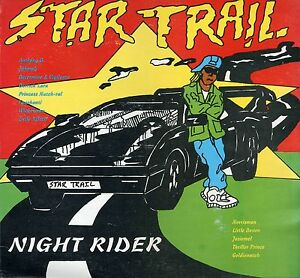 Details about V A: NIGHT RIDER - orig  Jamaican pressing 12 track 1990's  Star Trail Riddim LP
