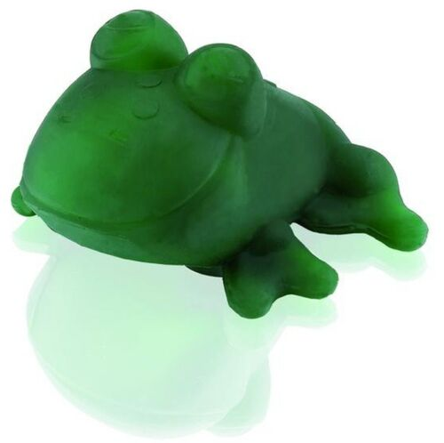 NEU Hevea Fred grüner Frosch Badespielzeug 100 /% Naturkautschuk I BPA frei 0+