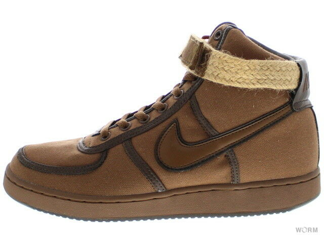 NIKE VANDAL HI CANVAS CANVAS CANVAS 306323-221 bison bison-paul brown Size 10 6cc0fd