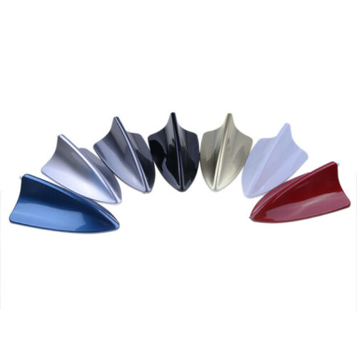 Auto Shark Fin Universal Roof Dummy Antenna FM//AM Decorate Aerial For BMW Gray