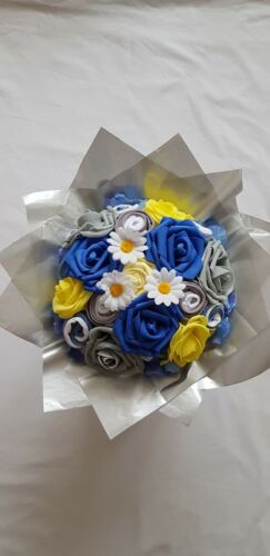 Nappy Cake Baby Shower Gift Baby Boy Bouquet of Baby Clothes New Baby