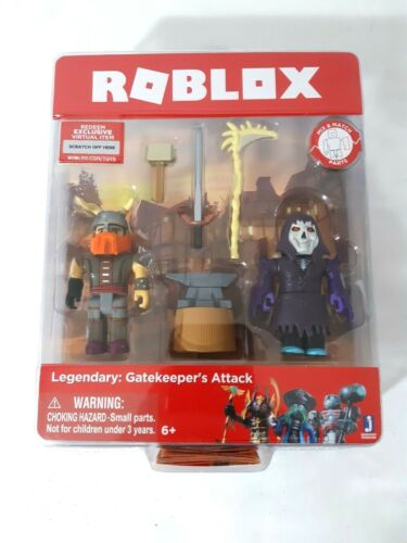 Roblox Legendary NEW in Blister Gatekeeper Attack Action Figure Very Cool Toy