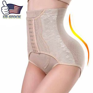 US-Tummy-Control-High-Waist-Panty-Seamless-Butt-Lifter-Women-Shorts-Body-Shaper