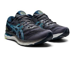Asics Herren Gel-Nimbus 23 Laufschuhe Sneaker Turnschuhe dunkelblau Sport