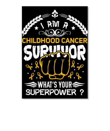Portrait Childhood Cancer Survivor Special I Am A What/'s Your Sticker