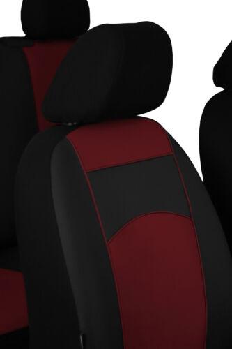 VW Crafter doble cabina 7 plazas 2017 en adelante Tailored Fundas Eco Cuero