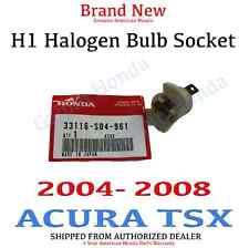 04-08 Acura TSX Genuine OEM Halogen Headlight Bulb Holder Socket (33116-SD4-961