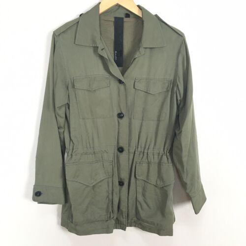 Joe's Jeans Anorak Utility Safari Green Jacket Wom