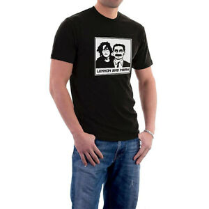 Lennon-amp-Marx-John-amp-Groucho-T-Shirt-or-Hoodie-S-5XL-Sillytees