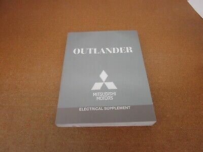 2014 Mitsubishi Outlander ELECTRICAL ONLY service shop ...