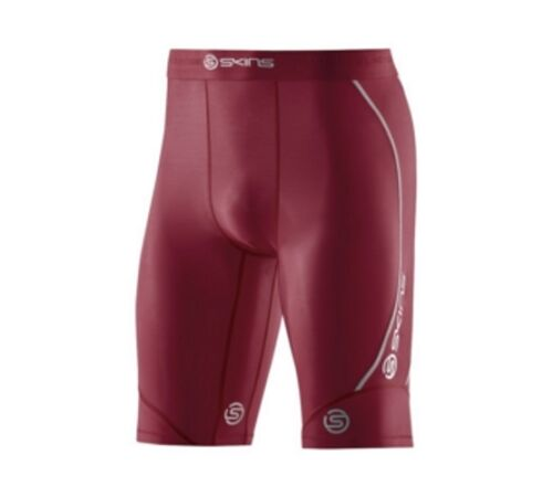 Skins DNAmic Mens Half Tights FREE AUSTRALIA DELIVERY Maroon