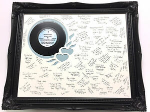 1st-Dance-Personalised-Guest-Signing-Frame-Luxury-wooden-Swept-Frame-5-Colours