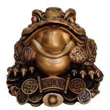 """10"""" Big Feng Shui Money Frog"""
