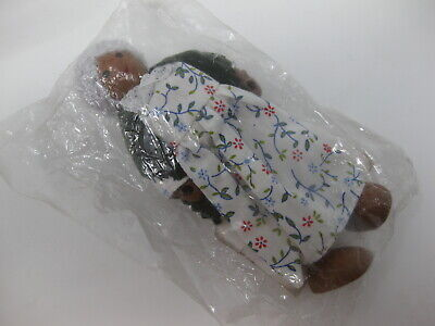 Father Dad Old Man White Caucasian Hearthsong New Wooden Dollhouse Doll