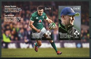 Sellos-de-2019-estampillada-sin-montar-o-nunca-montada-Rugby-Irlanda-Joe-Schmidt-Johnny-Sexton
