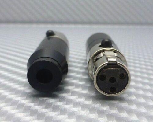 DH Labs Mini XLR Audeze Headphone connectors DIY headphone cable