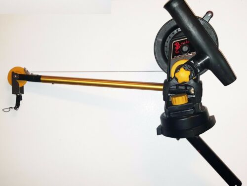 SEAHORSE Downrigger , Swivel, Gimbal and Rod holder attachment NEW With WARRANTY