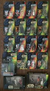 STAR-WARS-POTF-22-Figure-Episode-I-Lot-1995-1999-Power-Of-The-Force-MIB-Cantina