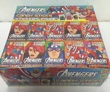 60 cajas palos de caramelo-Vengadores-Bolsa Fiesta Rellenos Retro