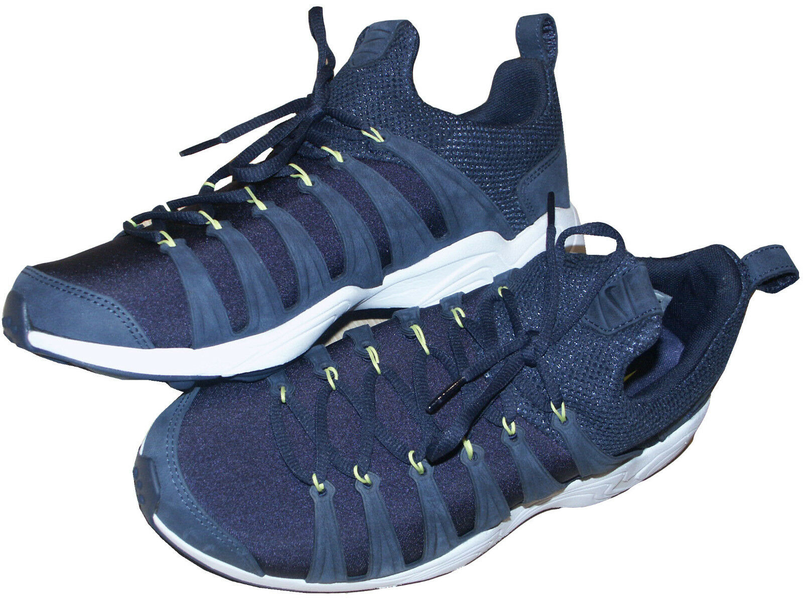 NIKE AIR ZOOM SPIRIMIC LIGHTWEIGHT NAVY TRAINERS / chaussures RARE SZ:UK8 EU42.5 US9