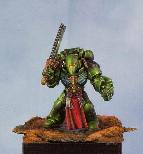Warhammer 40k , salahommeder  space marine , pro painted .  pas cher et de la mode