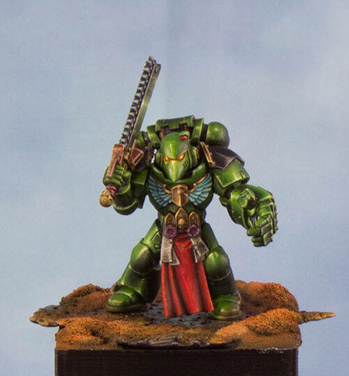 Warhammer 40k , salahommeder  space marine , pro painted .  60% de réduction