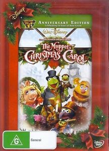THE-MUPPET-CHRISTMAS-CAROL-Anniversary-NEW-Disney-DVD