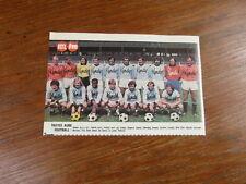 Photo-poster FOOTBALL vintage : TROYES AUBE FOOTBALL (ESTAC) saison 1976-1977