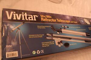 VIivatar-Refractor-Telescope-With-Tripod-50x-100x-New-C3R