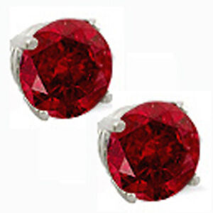 14K-GOLD-RUBY-2-86-CARAT-ROUND-SHAPE-STUD-PUSH-BACK-EARRINGS-SALE-80-SALE
