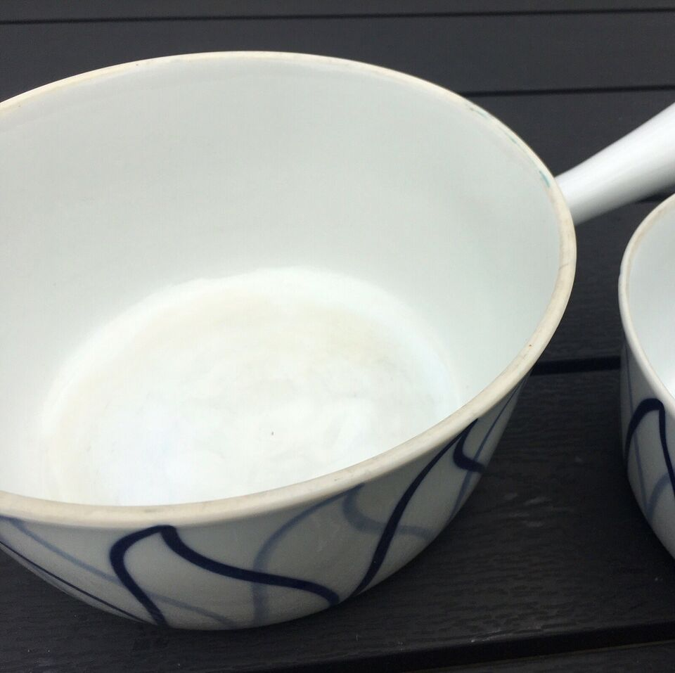 Porcelæn, Thekande, skåle