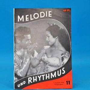 GDR-Melody-and-Rhythm-11-1958-Julia-Axen-Orchestra-Herbert-Gelbke-Leipzig